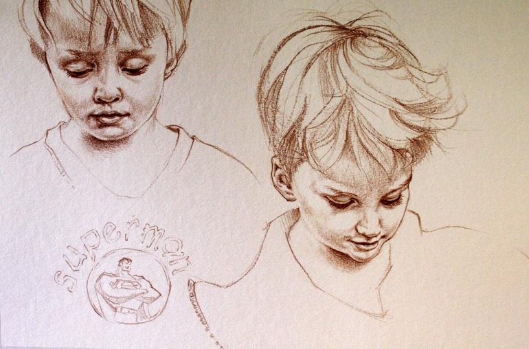 Boys Sketch