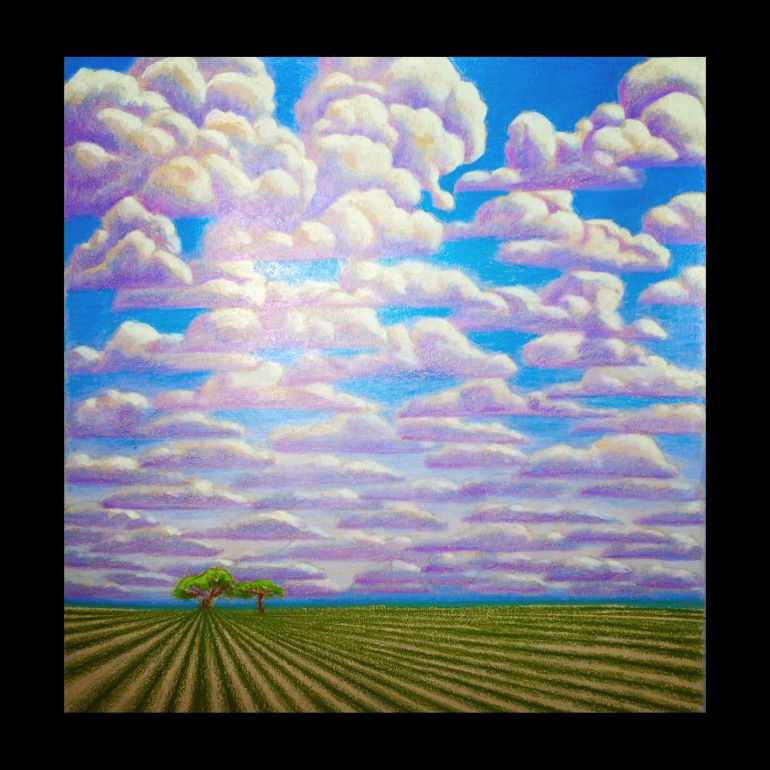Clouds Field Sketch