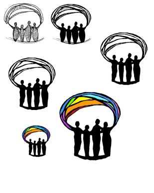 Connections People Rainbow logo2