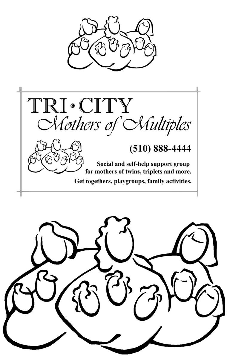 Mothers of Multiples Logo Art