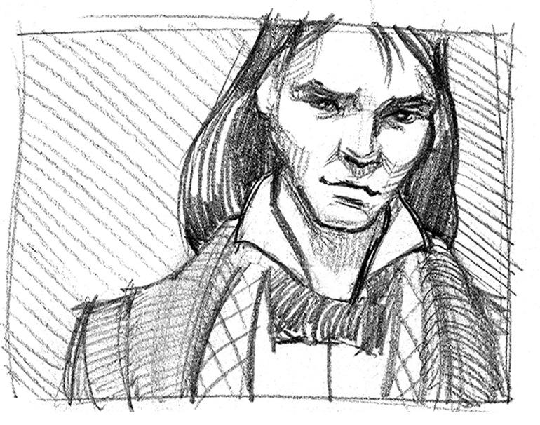 Count Arpad Sketch 01